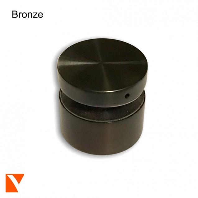 "Stainless Steel Standoff 1.5"" Diameter, 1"", 1.5"", 2"" Offset"